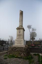 Cmentarz przy ul. Kopernika.