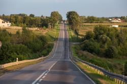 Chyba najdłuższa plama oleju, jaka trafiła się od dawna w okolicy. Ciągnęła się od skrzyżowania ul. Sikorskiego z Różaną, a kończyła w Wygodzie. To w sumie 14 km dróg miejskich i drogi krajowej 63.