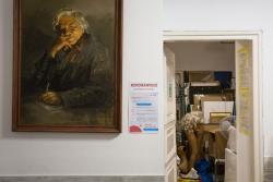 Retrospektywną wystawę Jerzego Swoińskiego otwarto w Galerii Sztuki Współczesnej Muzeum Północno-Mazowieckiego.