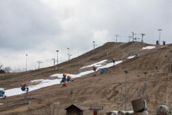 Krótki sezon narciarski na stoku w Rybnie