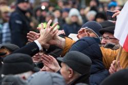 Prezydent Andrzej Duda w Wysokiem Mazowieckiem.
