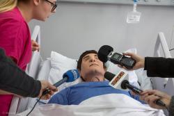 Otwarcie Centrum Symulacji Medycznej przy PWSIiP w Łomży