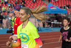 Bieg dla Justyny na milę zgromadził około 600 biegaczy.