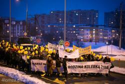 Marszu dla życia i rodziny przeszedł ulicami Łomży