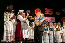 Jubileusz 35 lat Zespołu Pieśni i Tańca Łomża n/z Kazimierz Pawczyński choreograf i współzałożyciel zespołu.