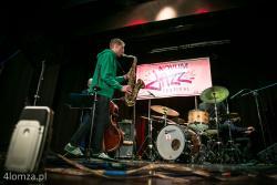 Novum Jazz Festiwal n/z zwycięzca saksofonista Kuba Marciniak