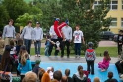 Crazy Twisting Group z Łomży znów jest mistrzem Europy! n/z występ grupy na Skate Parku