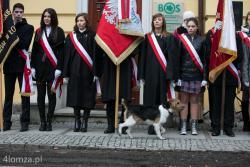Łomża. Uroczystości z okazji 95 rocznicy odzyskania niepodległości.