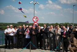 Oficjalnie otwarto bulwary nadnarwiańskie i port Łomża.