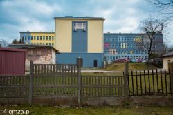 Krajobraz łomżyński. Dawny szpital, obecnie siedziba, m.in., Gminy Łomża i Liceum Plastycznego.