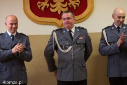 Wymiana komendantów. Wzruszony inspektor Andrzej Ryński z żalem żegna się z jednostką.