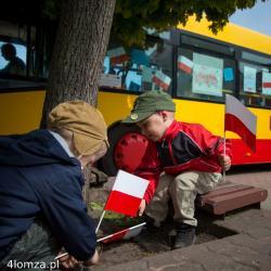 Dzień Flagi Rzeczypospolitej Polskiej na Starym Rynku.
