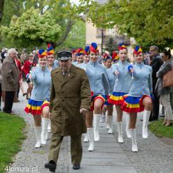 Obchody 223. rocznicy uchwalenia Konstytucji 3 Maja na pl. Jana Pawła II.