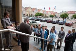 Studenci otrzymali klucze do bram miejskich Łomży.