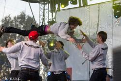 Pierwsze miejsce na tegorocznych Mistrzostwach Europy Federacji IDO we Włoszech dla C.T. Group. Zdjęcie wykonano podczas występu na paradzie województwa podlaskiego.