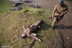 Rekonstrukcja walk z 1939 w Nowogrodzie.