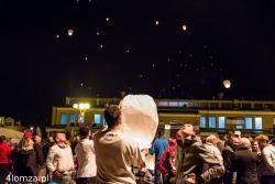 XV Mikrolotowe Mistrzostwa Podlaskiego KONTAKTY 2014 - inauguracja na Starym Rynku.