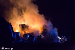 Trzy pożary w Bronowie jednego wieczora.