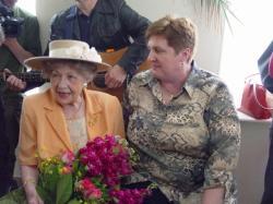 Czerwiec 2005 r. Hanka Bielicka i Krystyna Borkowska