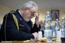 St. bryg. Jan Chludziński, z-ca komendanta miejskiego PSP w Łomży odchodzi na emeryturę.