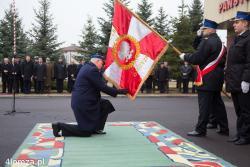 St. bryg. Ireneusz Denysiuk komendant PSP w Łomży odchodzi na emeryturę.