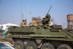 Światowa polityka i echa konfliktu na Ukrainie dodarły do Łomży. Grupa pojazdów armii amerykańskiej wracająca z Litwy przejechała ulicami miasta. O ile bezpieczniej się poczuliśmy ...