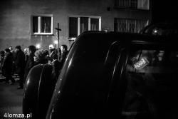 Droga krzyżowa o. Kapucynów ulicami miasta.