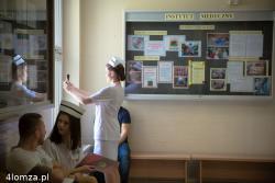 Czepkowanie w Instytucie Medycznym PWSIiP w Łomży