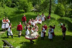 Zespół Pieśni i Tańca Łomża w Skansenie Kurpiowskim w Nowogrodzie