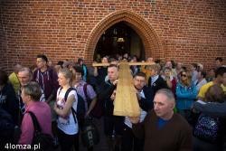 31 Łomżyńska Pielgrzymka na Jasną Górę wyrusza z łomżyńskiej katedry.