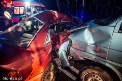 Wypadek na drodze 64 (Łomża - Białystok)