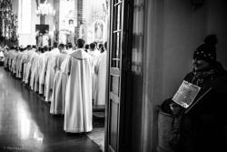 Dzień kapłański w łomżyńskiej Katedrze w Roku Miłosierdzia.