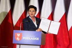 Co pokazała premier Beata Szydło...?