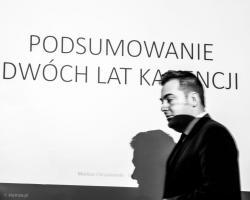 Podsumowanie dwóch lat kadencji prezydenta Mariusza Chrzanowskiego.