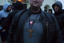 Wrogom ojczyzny, rogi ojczyźnie? To i hasła o białej rasie przykrywamy krzyżem? II Hajnowski Marsz Żołnierzy Wyklętych
