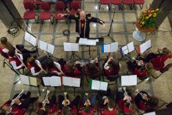 Łomżyńska Orkiestra Dęta pod batutą Waldemara Borusiewicza obchodziła w tym roku 10-lecie.