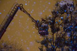 Pierwsza śnieżyca.