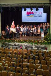 Uroczysta sesja Rady Miasta z okazji jubileuszu 600 lat praw miejskich.