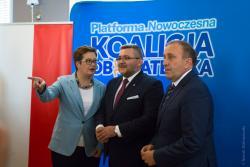 Maciej Borysewicz kandydatem Koalicji Obywatelskiej na prezydenta Łomży.