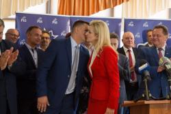 Kandydatka PIS na prezydenta Łomży Agnieszka Muzyk.