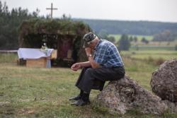 Obchody 79.rocznicy walk pod Wizną na Strękowej Górze.