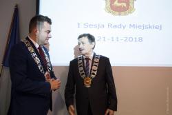 I sesja Rady Miejskiej w Łomży.